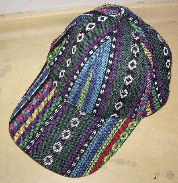 画像1: チベット・チャン族帽子 (1)