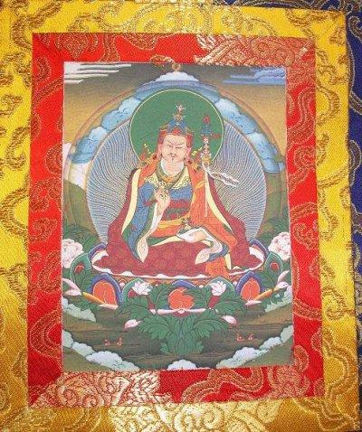 画像1: 西蔵仏教絵画タンカ・複製品