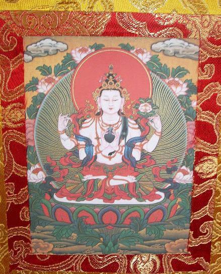 西蔵仏教絵画タンカ・複製品 - ...